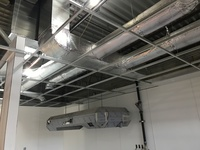 Commercial kitchen ductwork