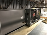 Overhead commercial HVAC